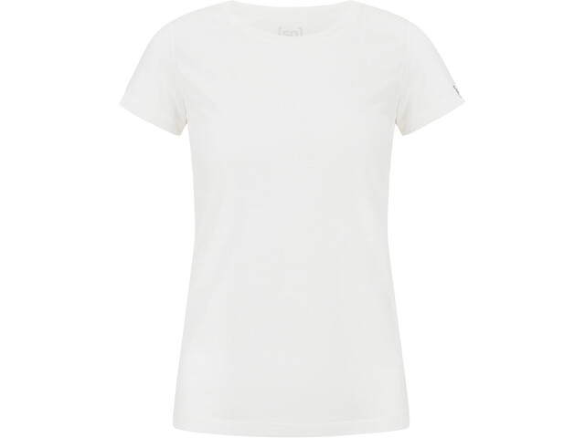 super.natural Base 140 Tee Women fresh white